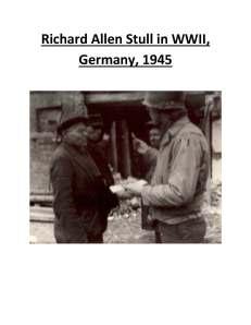 Doc's Dad Germany  1945