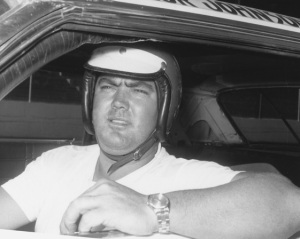 DAYTONA BEACH, FL - FEBRUARY 24: Junior Johnson's career included a 1963 Daytona 500 in Daytona Beach, Florida on February 24, 1963 win as a driver and several points championships as a car owner and crew chief. His life story was also featured in a best-selling novel by Tom Wolfe. (Photo by RacingOne/Getty Images)